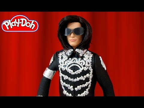 Play Doh Michael Jackson Inspired Costume Play-Doh Craft N Toys