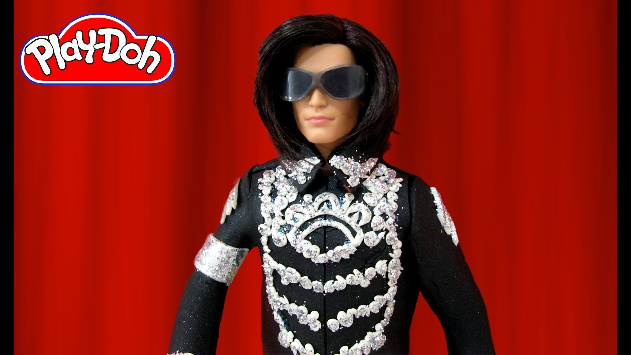 Play Doh Michael Jackson Inspired Costume Craft N Toys