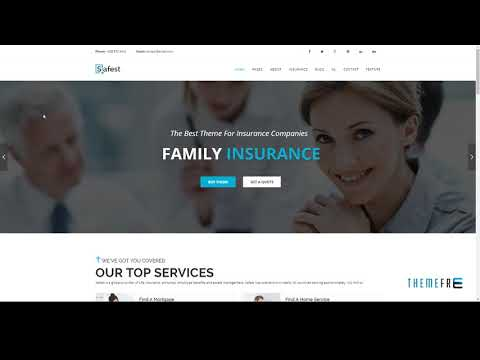 Safest - Insurance Agency and Business Joomla Template        Clarenc