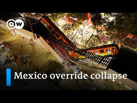 What happened at the Mexico City Metro train accident?   DW News