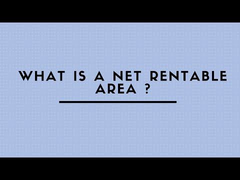 WHAT IS A NET RENTABLE AREA ?
