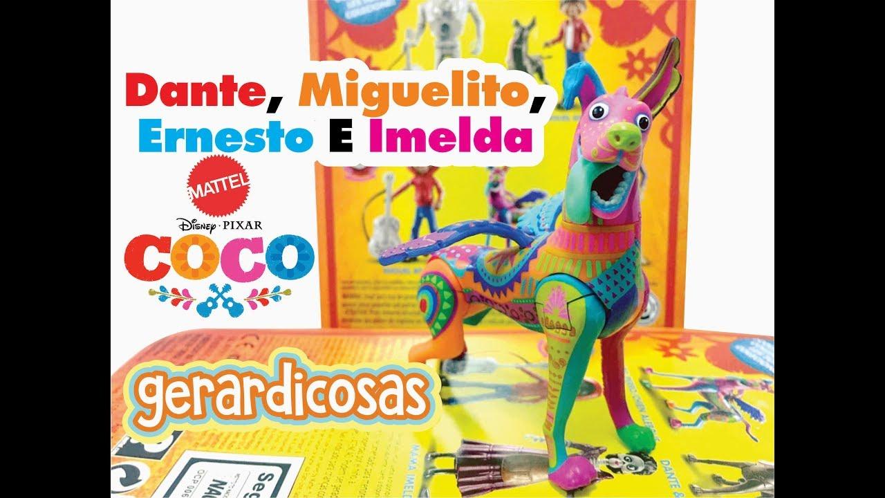 Coco Dante Miguelito Ernesto E Imelda Mattel