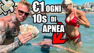 REGALO 1 EURO ogni 10 secondi in APNEA!