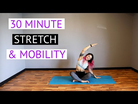 30 Minute Stretch & Mobility | Full Body Post-Workout or Recovery Day Stretch