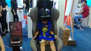 Maaz first Samsung VR experience at Gitex shopper 2017 Dubai