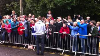 Andy Murray Visit's Dunblane