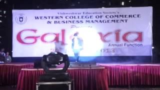 wccbm fashion show of bms students