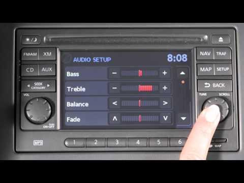 2012 NISSAN Versa Sedan - Audio System with Navigation