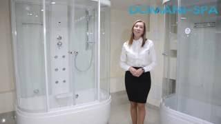 Преимущества душевых кабин Domani Spa - Видеообзор