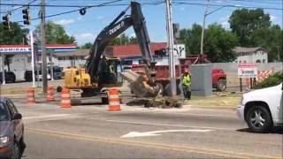Road construction part 1