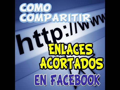 Como compartir enlaces acortados en Facebook sin ser bloqueado