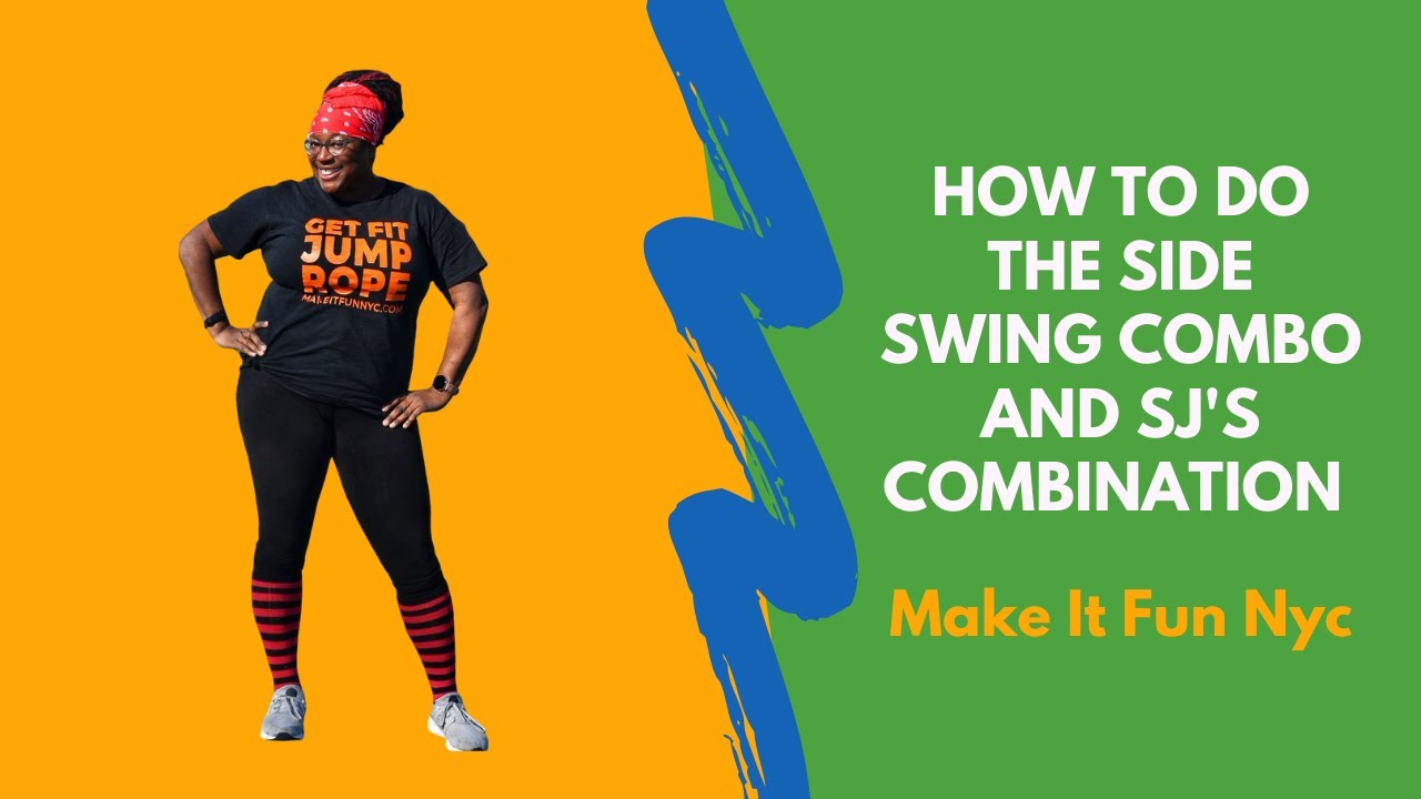 How to do the jump rope Side Swing Combo & SJ's