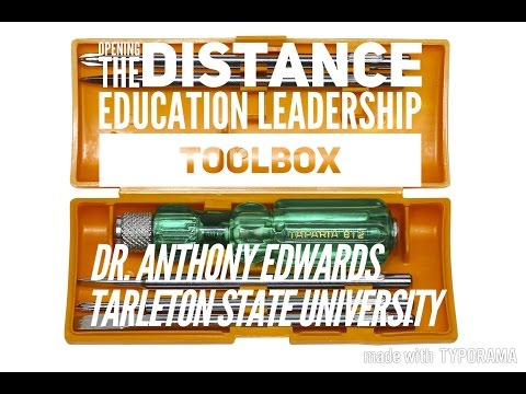 Opening the Distance Education Leadership Toolbox