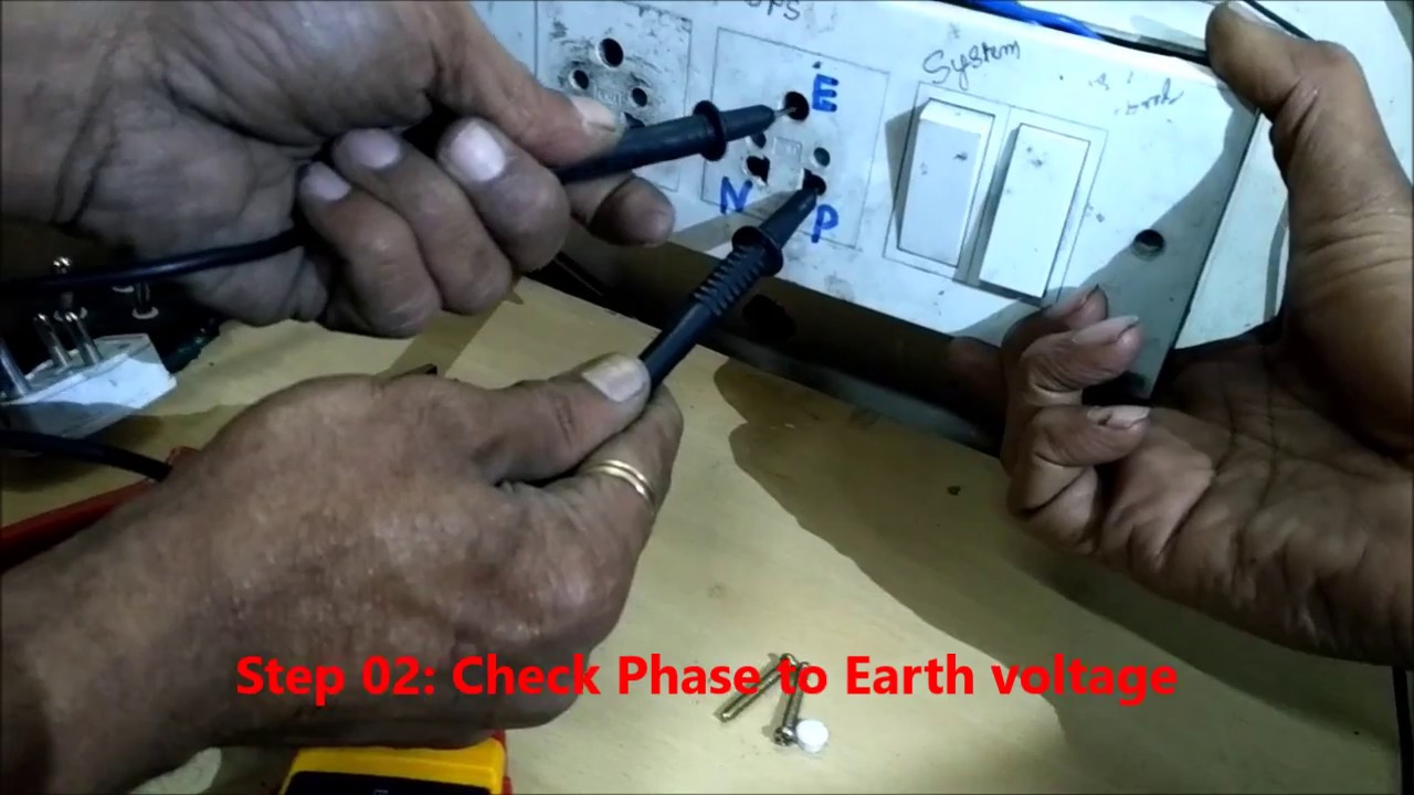 how to give earthing to house
