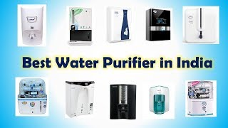 Best Water Purifier In India With Price
