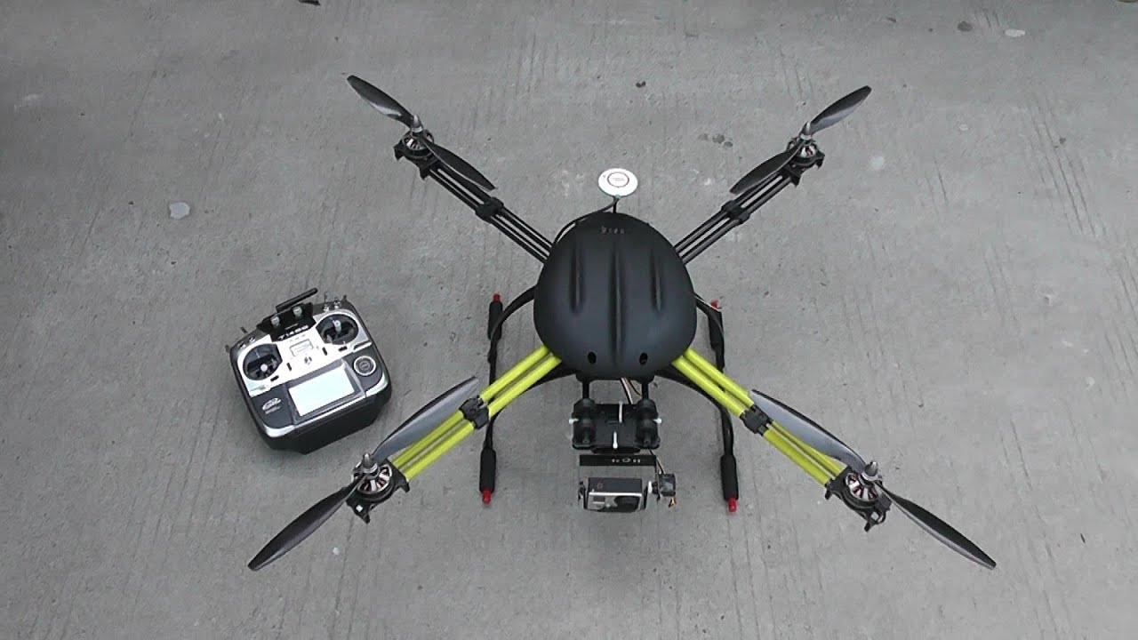 The Intruder Q7 Aerial Surveillance Drone Revealed