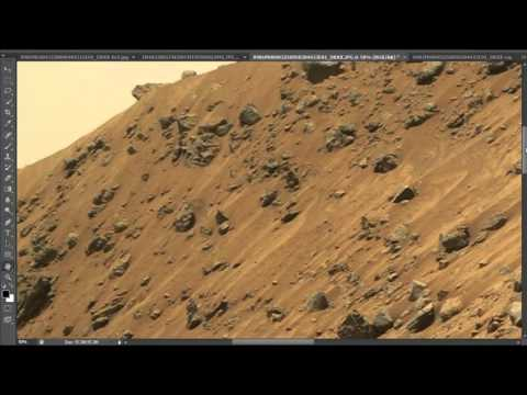 Strange Object On Hilltop    SOL 981 Mars Anomaly Research Ch