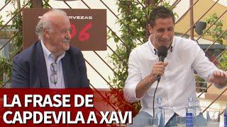La frase de Capdevila a Xavi en el túnel de vestuarios antes de la final de la Euro2008