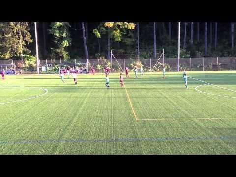 Leysin American School - Boys Soccer vs Le Rosey 2013
