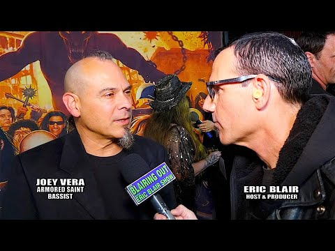 Armored Saint's Joey Vera & Eric Blair talk Dio Gala & New Album 2020