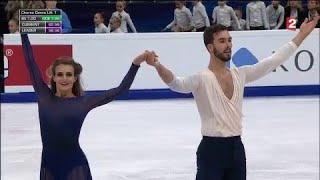 Patinage artistique : Gabriella Papadakis et Guillaume Cizeron champions d'Europe pour la 4e fois