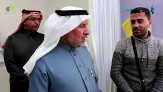 بالفيديو .. الحرس الوطنى السعودى يستقبل طفلتين