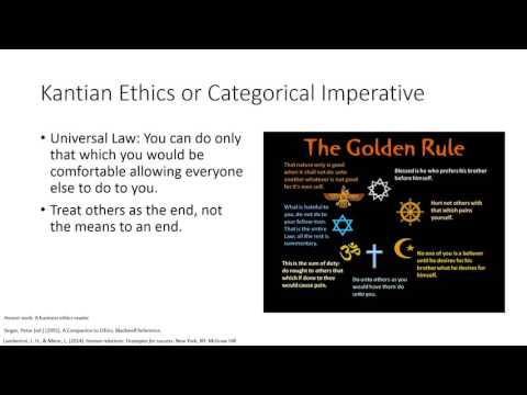 Introduction to Ethical Approaches