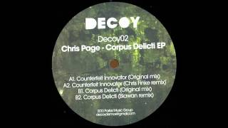 Chris Page - Corpus Delicti (Blawan remix)