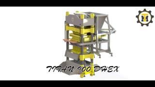 Кирпичный мини-завод  на базе гиперпресса TITAN 900 DHEX(Кирпичный мини-завод на базе гиперпресса TITAN. Кирпичные прессы Титан являются прессами двухстороннего..., 2014-08-14T13:50:13.000Z)
