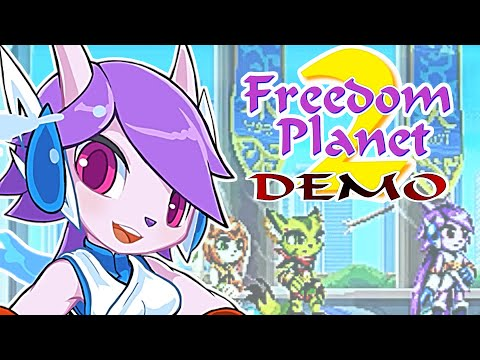 gaming-channel-live-stream-now-freedom-planet-2-demo-galaxytrail-games