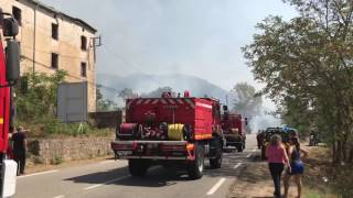 Incendie à Vero : d'importants moyens déployés