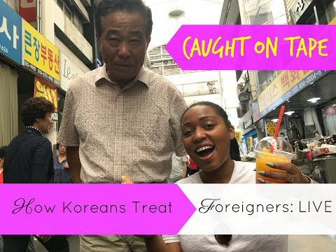 How Koreans Treat Foreigners: Ahjussi Caught on Tape