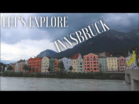 A brief tour of Innsbruck (Austria Travel Vlog)