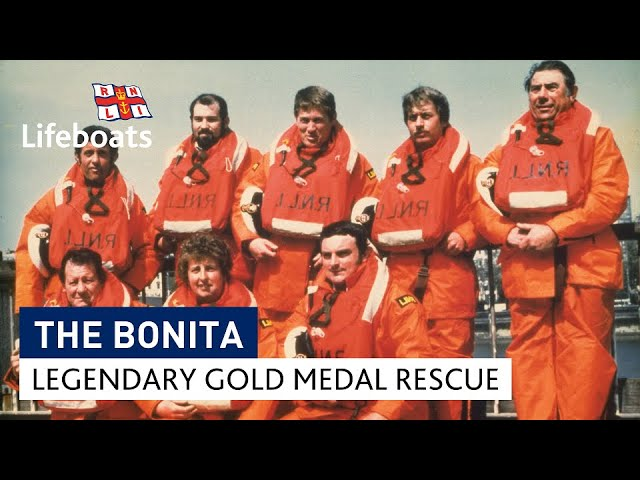 Gold medal rescue: the incredible story of the Bonita