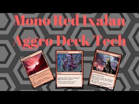 Ixalan Standard Deck Tech: Mono Red Aggro