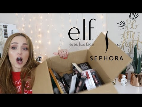 Download Youtube: e.l.f & Sephora HAUL | NEW MAKEUP !!