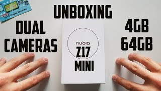 NUBIA Z17 Mini Unboxing and Hands on(Snapdragon/16MP front Camera) 2017/Video/test