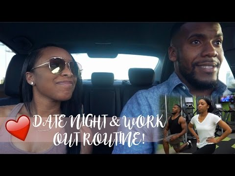 FUN DATE NIGHT & HILARIOUS LATE NIGHT GYM SESSION (WITH WORKOUT ROUTINE)!!