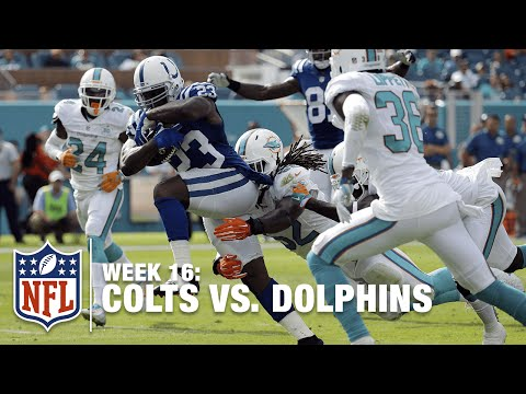 Frank Gore Running Wild In the 1st Half vs. The Dolphins! | Dolphins vs.Colts | NFL