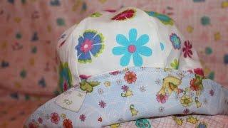 Chapéu reversivel de criança – Passo a passo com Sonia Mota