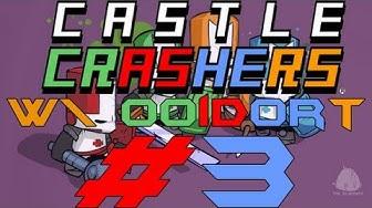 Pelataan Castle Crashers coop ft. Ooidort - Osa 3 - Iso lepakko!