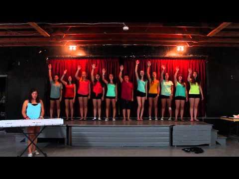 2013 Segal Sing-Off Camp B'nai Brith of Ottawa Part 1