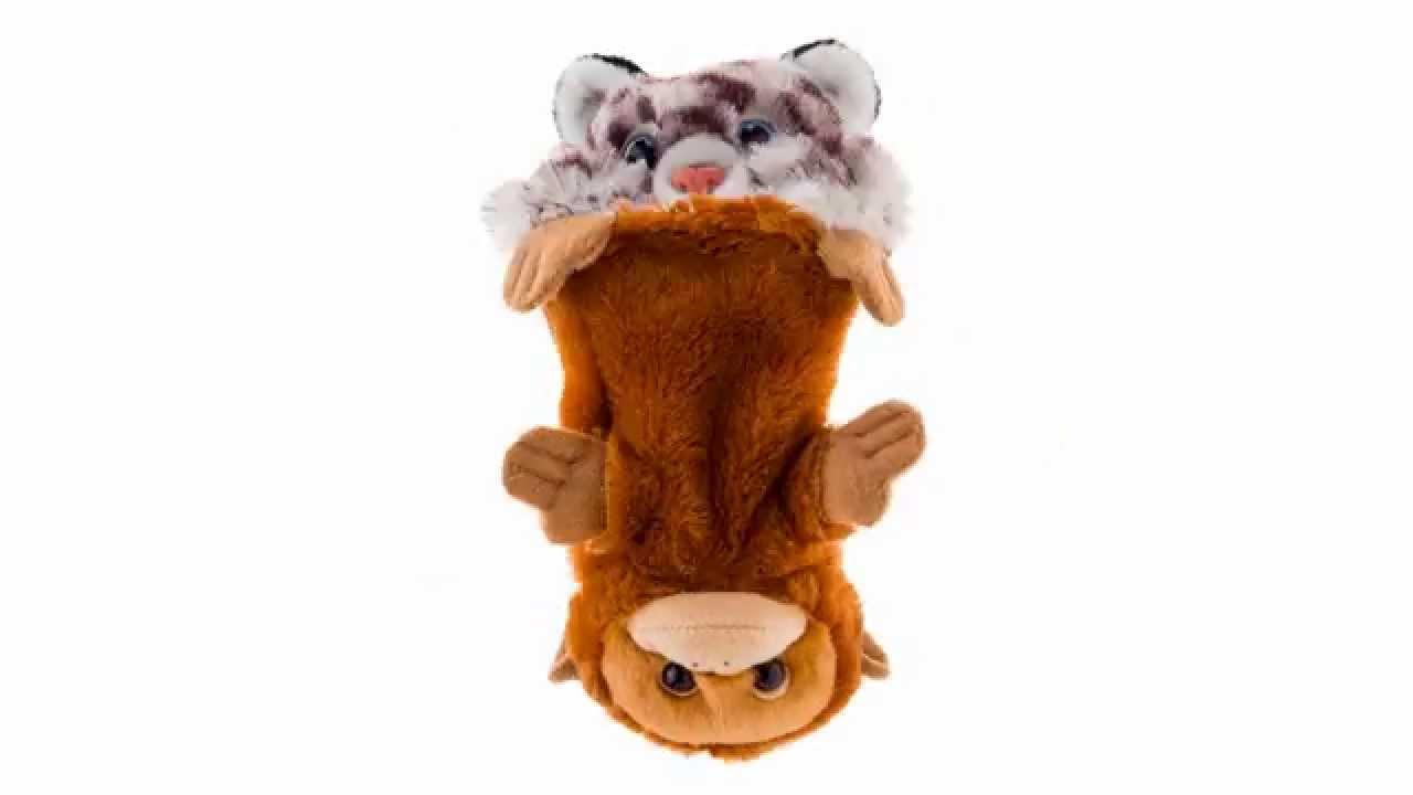 Switch A Rooz Bongo Bingo Snow Leopard Orangutan Stuffed Animal