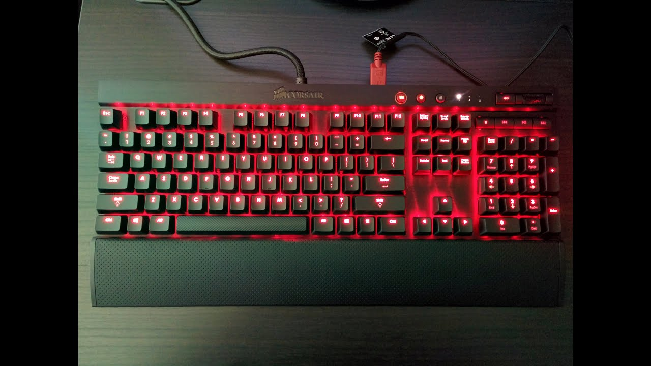 Image result for Corsair K70 LUX Mechanical Cherry MX Red