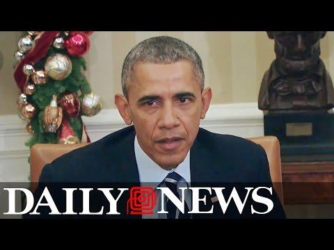 Obama addresses San Bernardino shooting from White House