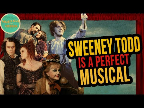 Sweeney Todd (1979)-- Musicals W/ Cheese Podcast #01 #MusicalsWithCheese🧀