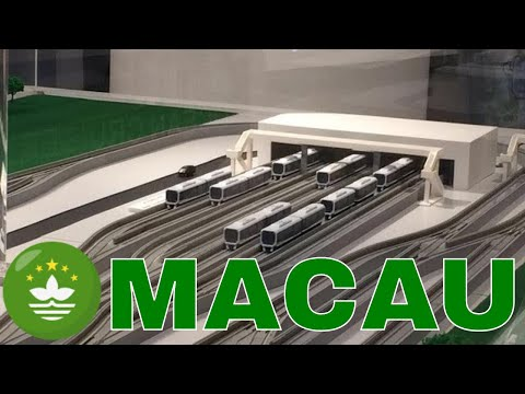 Macau Light Rail Transit  澳門輕軌系統模型