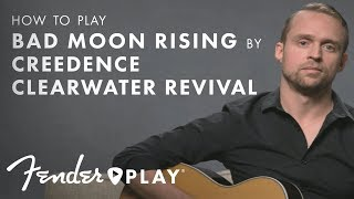"""How To Play """"Bad Moon Rising"""" by Creedence Clearwater Revival 