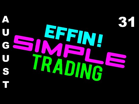 8/31/16 Trades on Display – eMini NASDAQ (NQ) – Futures Day Trading // EffinSimpleTrading