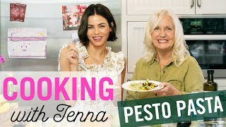THE BEST PESTO RECIPE EVER | & Ecotarian Health Tips | Cooking With Jenna Dewan